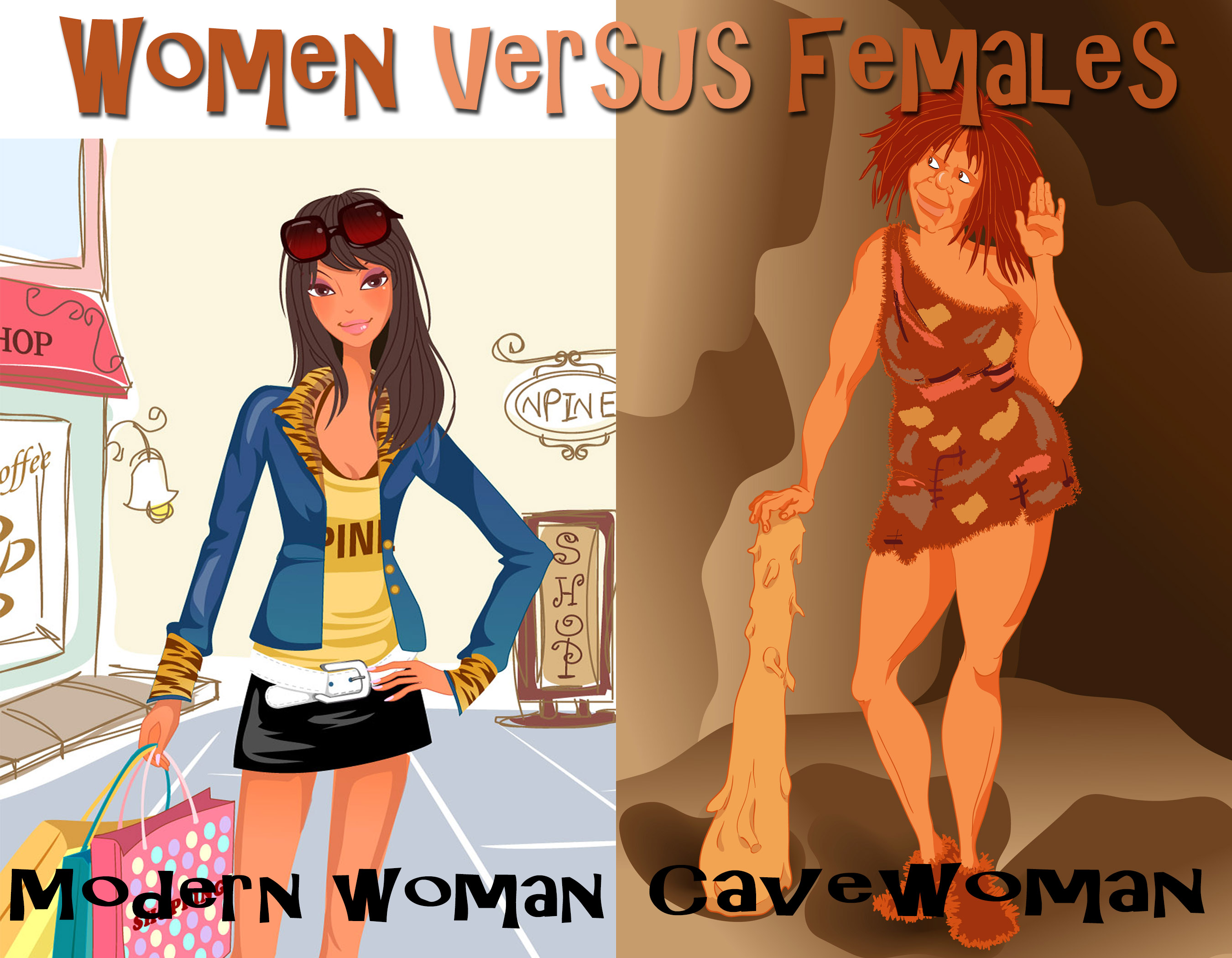 Women versus females