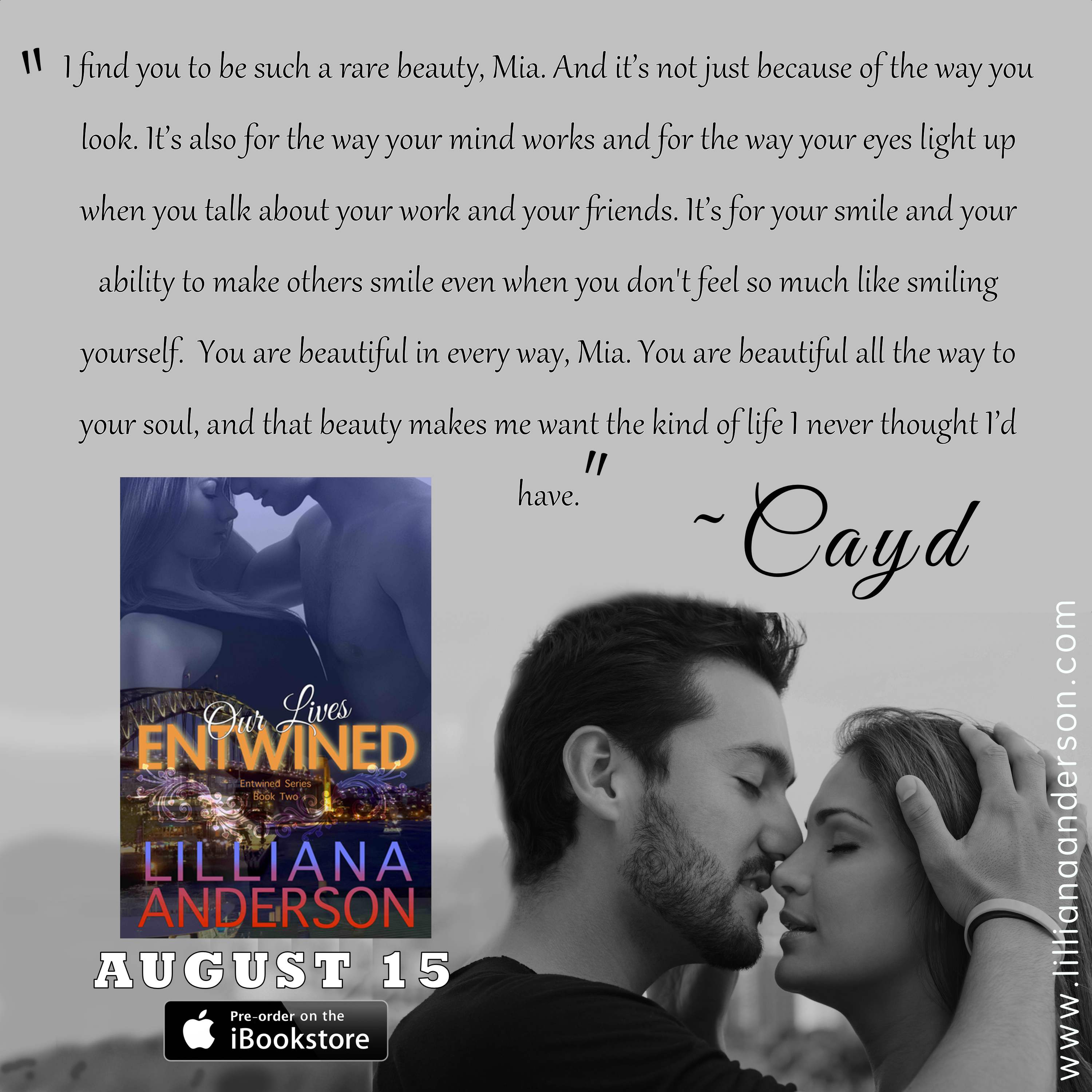 entwined quote teaser - preorder